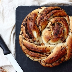 { Little Accidents in the Kitchen }: Cinnamon Raisin Twist Bread