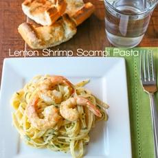 Lemon Shrimp Scampi Pasta — Tastes Lovely