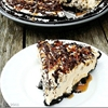 Snickers and Turtles Pie
