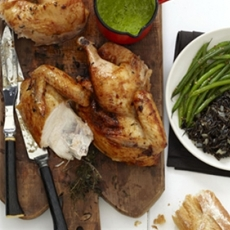 Crispy Roast Chicken Recipe