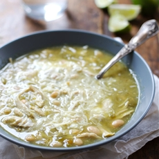 Jalapeño Lime Chicken Soup - Pinch of Yum
