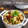 Pesto Pasta with Chicken & Veggies