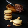 Peanut and Chocolate Macarons