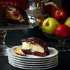 Peach Pudding Chocolate Cake