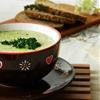 Broccoli cream Soup. Brokkoli creme suppe