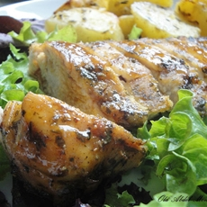 Roasted chicken breast fillet