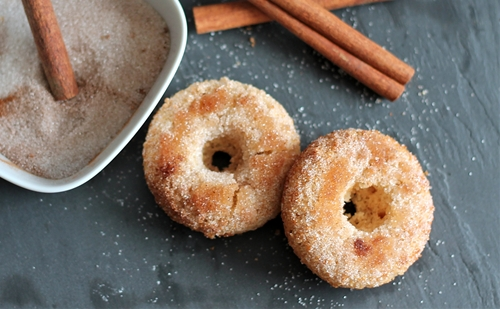 Baked Cinnamon Sugar Donut