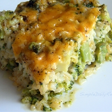 Creamy, Cheesy Broccoli Rice