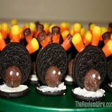 Oreo Turkey Cookies With 4 Ingredients
