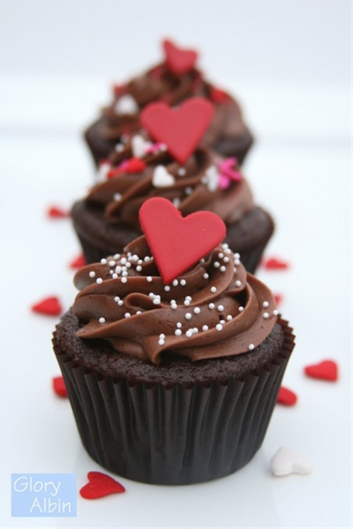 Perfectly Chocolate Cupcakes