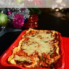 Veggieful mushroom lasagna - aka my first lasagna!