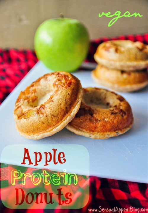 Apple protein doughnuts recipe