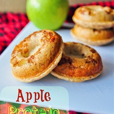 Apple protein doughnuts recipe