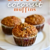 Carrot coconut raisin muffins
