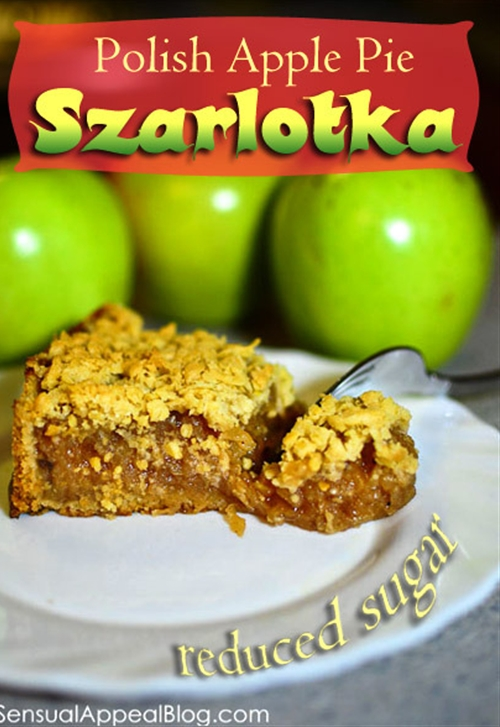 Traditional szarlotka recipe aka polish apple pie