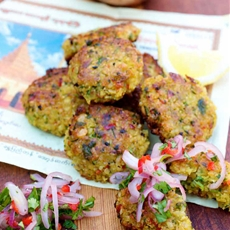 Yellow Split Pea Fritters