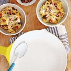 Bacon and Onion Squash Sauté