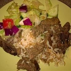 Lamb Shawarma and Tahini Sauce