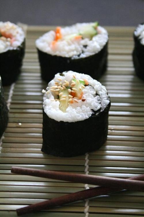 Basic Vegan Sushi