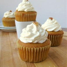 Brown Butter, Butternut Squash Cupcakes