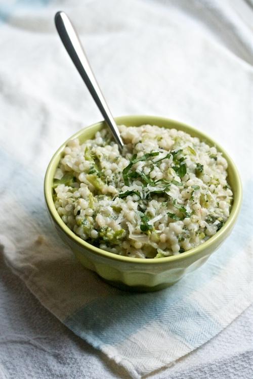 Broccoli & Parmesan Couscous