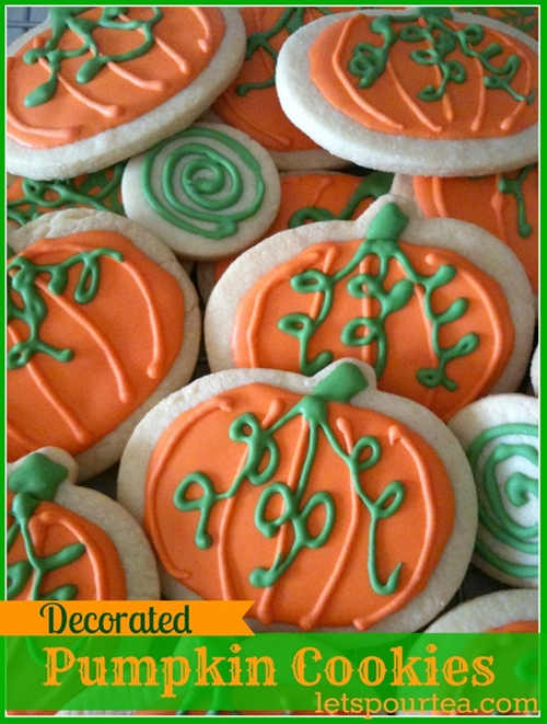 Sugar Pumpkin Cookies