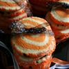 Pinwheel Halloween Sugar Cookies