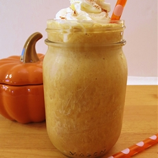 Pumpkin Pie Frappe / Pumpkin and Cream Frappe