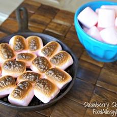 Strawberry Skillet Smores