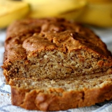 Easy Banana Bread (Gluten Free Optional)