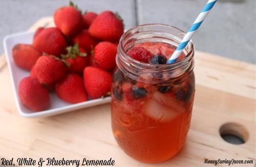 Red, White & Blueberry Lemonade