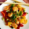 Aloha Sweet and Sour Shrimp Pasta