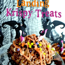 crash landing krispie treats~quick and easy hallow