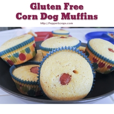 Gluten Free Corn Dog Muffins | Pepper Scraps