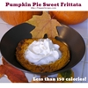 Frittata Friday: Pumpkin Pie Sweet Frittata