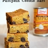 Chocolate Chip Pumpkin Cookie Bars