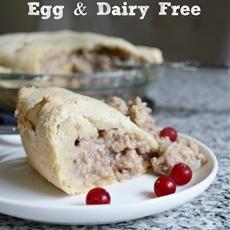 Dairy & Egg-Free Rustic Meat Pie