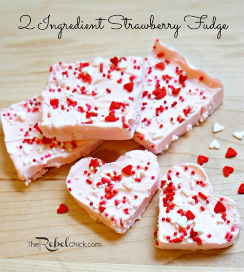 2 Ingredient Fudge Recipe