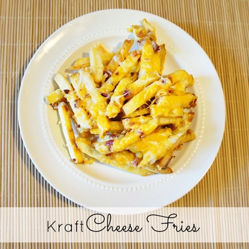 Easy Cheesy Bacon Fries