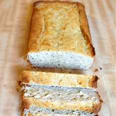 Heavenly coconut banana bread