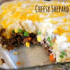 Cheesy Easy Shepards Pie