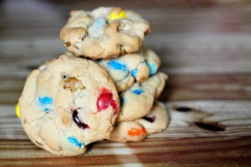 Springtime M&Ms Cookies Recipe