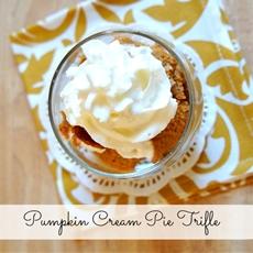 Pumpkin Cream Pie Trifle