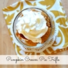 Pumpkin Cream Pie Trifle