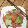 Stir Fry recipe with Alfalfa Sprouts