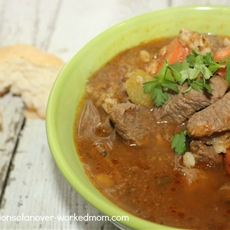 Beef Stew Recipe with Barley and Certified Angus Beef®