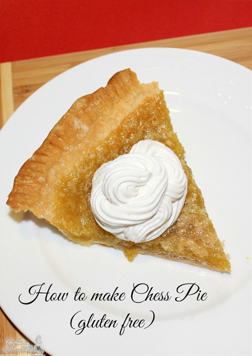 How to Make Chess Pie - gluten free