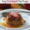 Crockpot Flan Recipe