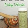 How to Make Celery Powder