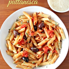 Easy Pasta Puttanesca